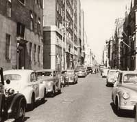 Morris parked in a London street