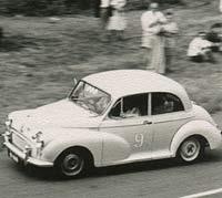 Morris Minor racing