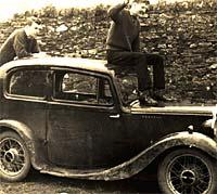 Morris 8 Series 1 saloon 1937