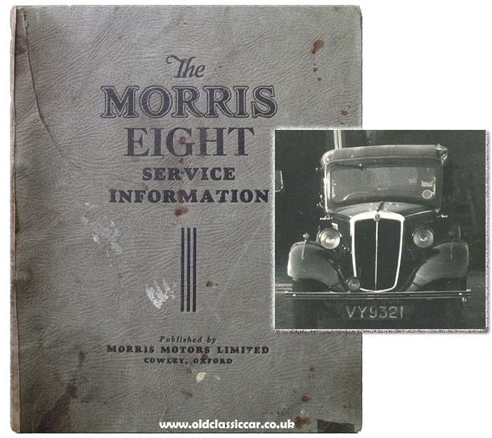 Morris 8 Service Information