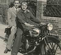 1931/1932 Ariel Sloper motorcycle
