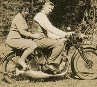BSA B33-1 motorcycle
