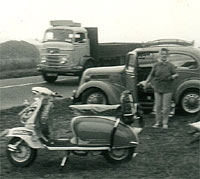 Lambretta and the Ford Pop
