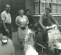 A 1962 Lambretta TV175