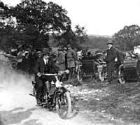 Ringlands motorcycle hillclimb 1921