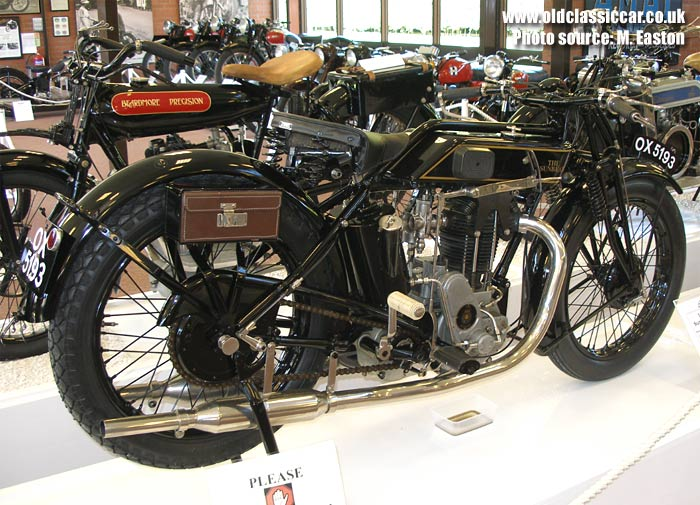 The Sunbeam as it is today, in a museum