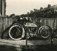 A 1915 motorcycle