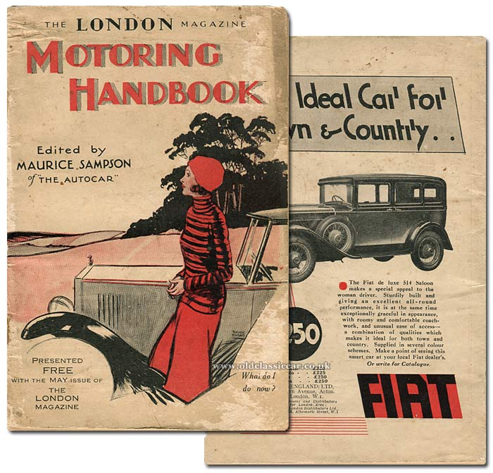 Cover of the Motoring Handbook