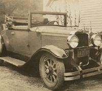 1929 Nash Convertible