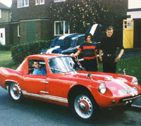 Nickri Spyder car in the 1960s