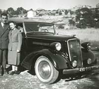 Opel 2.0 Cabriolet in the 1930s