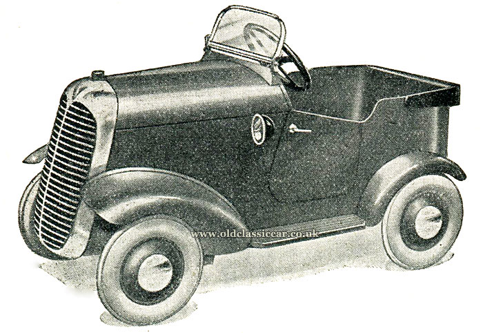 A 1930s pedal car by Tri-ang Lines Brothers