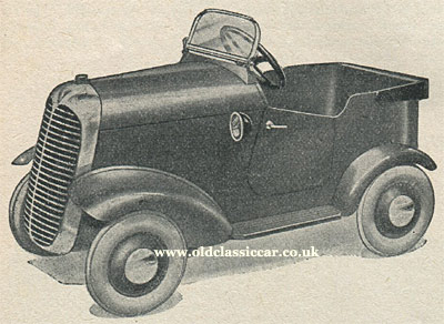 Another 1930s pedal car