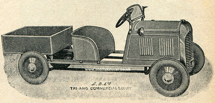 Tri-ang all-steel pedal lorry