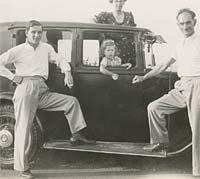 Family with their Armstrong Siddeley?