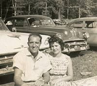 1953 Cadillac and 1956 Mercury