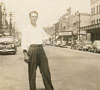 Sarnia, Canada, in the 1940s