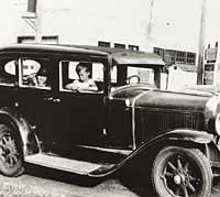 A 1929 Pontiac
