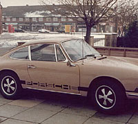 Side view of the Porsche 912