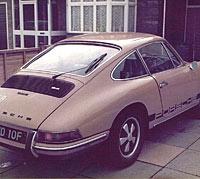 Porsche 912 rear view
