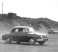 Renault at Pendine Sands