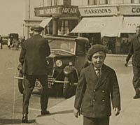 A Riley 9 Monaco saloon in the early 1930s