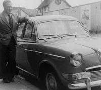 A Mk1 Riley 1.5 in 1957