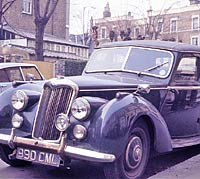 Another front view of the Riley RME