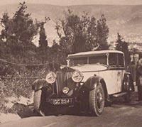1929 Rolls-Royce Phantom seen in Greece on tour