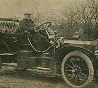 Vintage Rover car