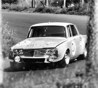Rover P6 4.3 litre V8 racing car