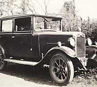 A Rover 10/25 Riviera in Mansfield
