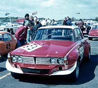 Traco-Olds at Kirkistown circuit