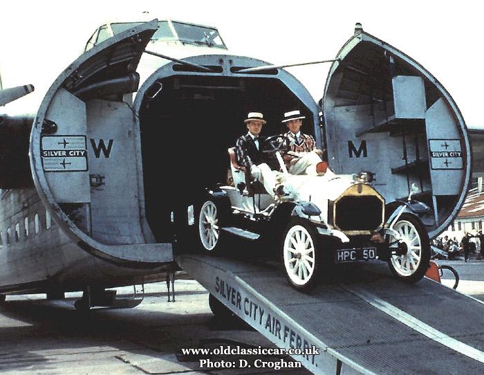 Silver City air ferry, 1959
