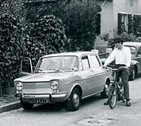 Simca 1000 in France