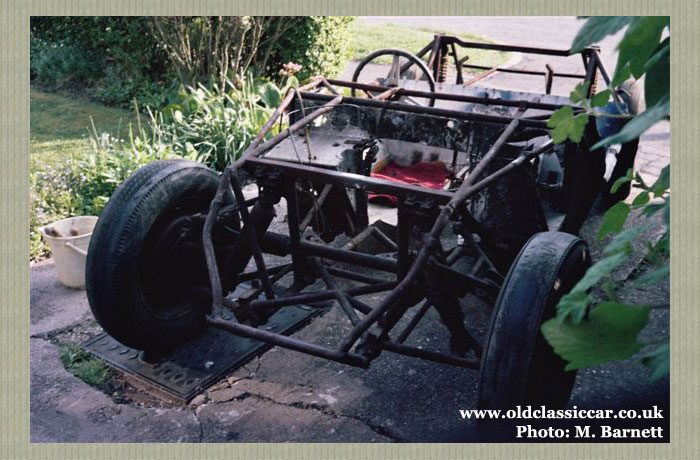 The rolling chassis