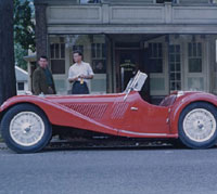 Side view of the same car