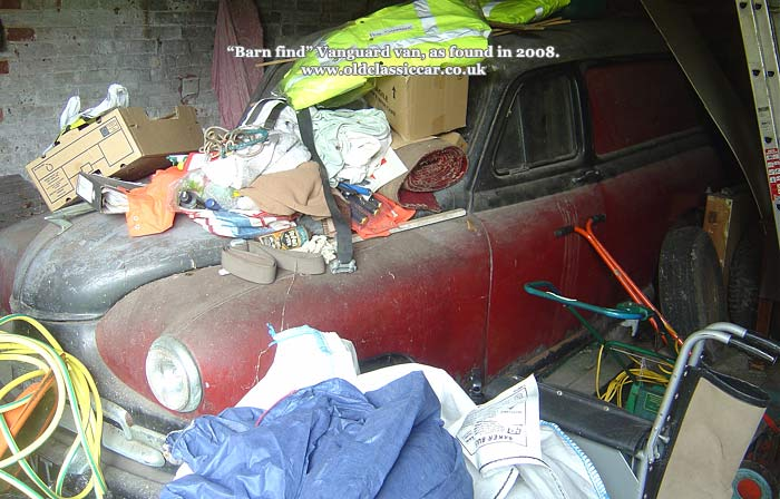 A barn-find van in 2008
