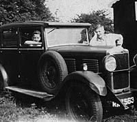 1929 Standard Envoy car