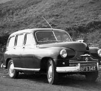 Standard Vanguard estate car