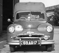 Standard Vanguard Pickup, at RAF Aston Down