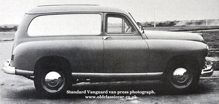 Press photo for the van version