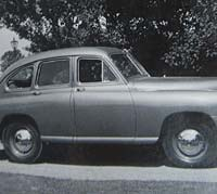 Side view of the 1949 Vanguard