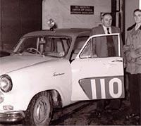 Vanguard Sportsman prepared for the Monte Carlo Rally