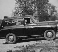 Side view of the Standard Vanguard van