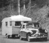 Phase 2 Vanguard tows a caravan