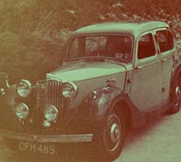 Colour view of the same car