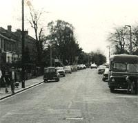 General traffic scene in 1970/1971