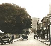 A 1920s street scene