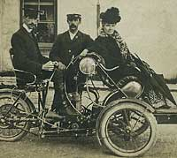 The Century Tandem tricycle